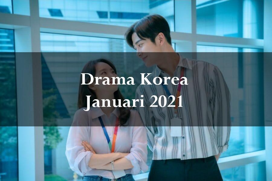 Sudah Siap Dengan K-Drama Di Januari Ini?